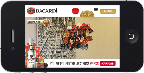 Bacardi Gras: Find The Jesters